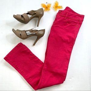 Lilly Pulitzer Azalea Pink Worth Straight Jeans